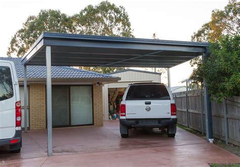 Skillion Roof Carport by Skillion Carport Quality Steel Skillion Carport Kits