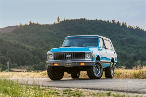 New K5 Chevy Blazer by The New Chevy Blazer Can T Compare To This 1972 Exle