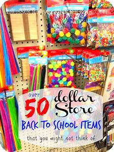 50+ cute Back to School Supplies from the Dollar Store ...