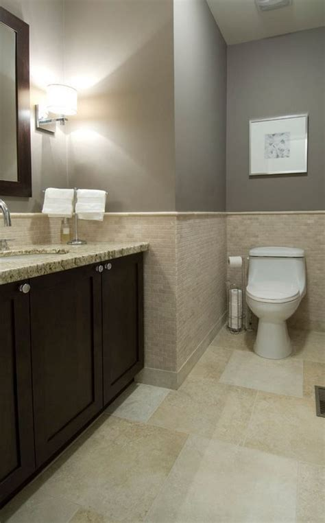 How To Make A Small Bathroom Appear Larger by How To Make A Small Bathroom Appear Larger With Tile