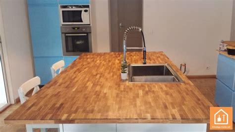 plan de travail en bois massif un plan de travail en bois massif 224 petit prix bricolage facile