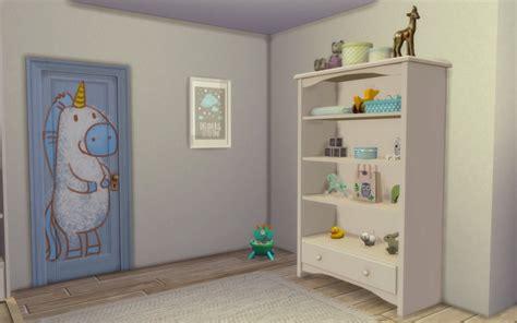 sims  chambre bambin cc toddler bedroom