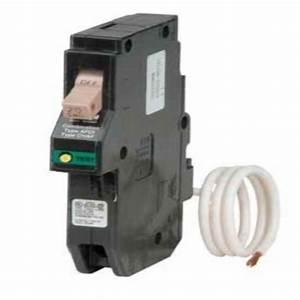 Eaton 20 Amp 1 Pole Type Ch Arc Fault Plug On Neutral