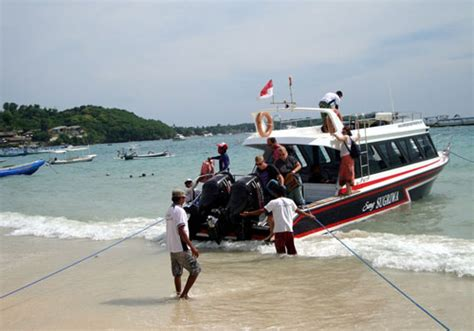 Scoot Ferry Sanur To Nusa Lembongan by Lembongan Sugriwa Express The Fast Boat For Return