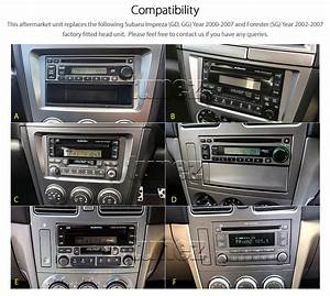 Android Car Mp3 Player Subaru Impreza Forester Stereo Gps