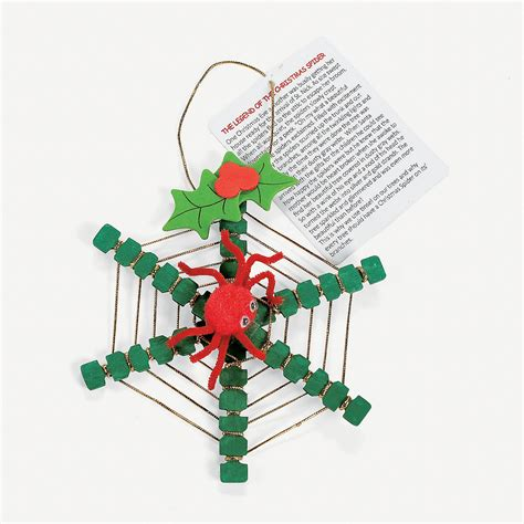 legend of the christmas spider ornament craft kit