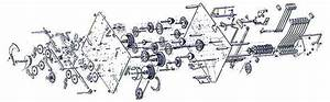1171 Hermle Clock Movement - Fast Shipping