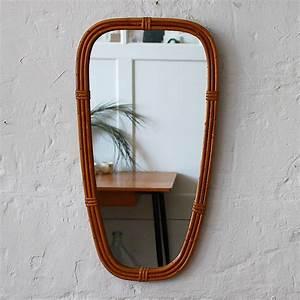 Petit Miroir Rotin : miroir osier forme soleil vintage atelier du petit parc ~ Melissatoandfro.com Idées de Décoration