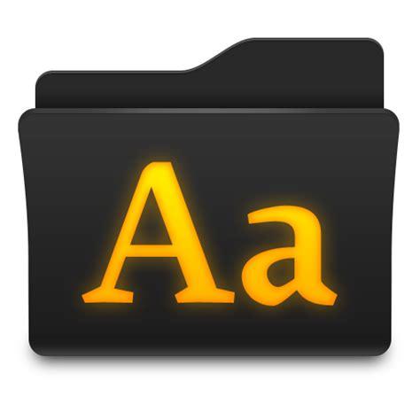 fonts icon zyr folder icons softicons com
