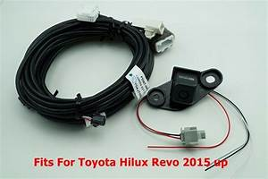 Toyota Hilux Revo 2015 Up Genuine Backup Camera Original Cable Set
