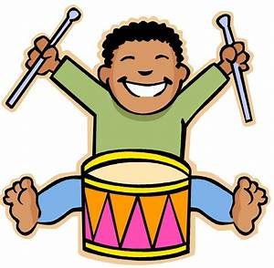 Kids And Music Clipart - ClipartXtras