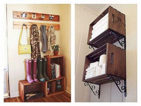 costruire mensole in legno arredare casa con le cassette di legno foto 2 40