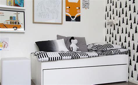 chambre blanc et noir une chambre pour enfant en noir et blanc shake my