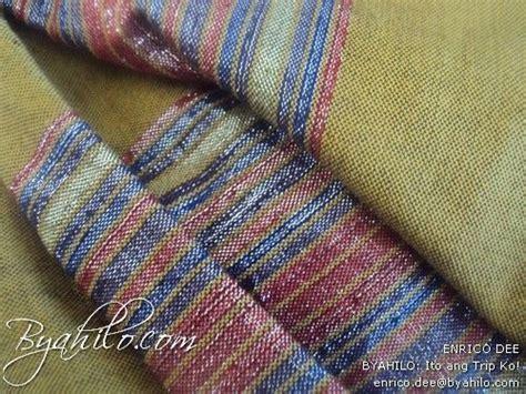 hablon  iloilo textile   cotton abaca