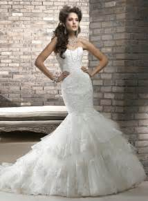 brautkleid maggie sottero amazing mermaid wedding dresses 2013