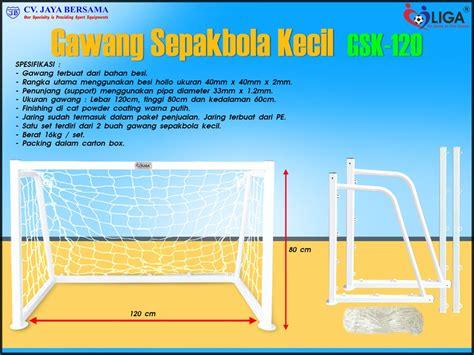 gawang sepakbola kecil gsk 120 agen alat olahraga