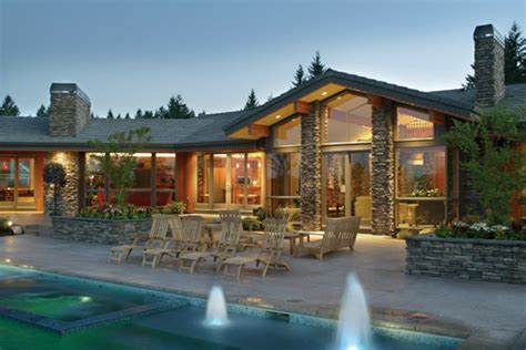 Stunning Luxury Ranch House Plans Photos by Stunning Home Designs The House Designers
