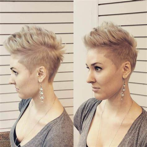 25  Faux Hawk Hairstyle Designs, Ideas   Design Trends
