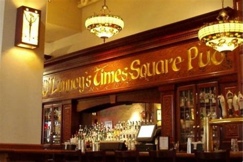 olunneys times square pub  york nightlife review