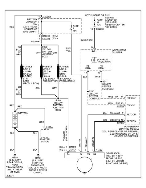 2001 Escape Charging Diagram by 2005 Ford Escape Charging System Problem A Few Weeks Ago