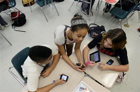 Some Schools Urge Students To Bring Their Own Technology  The New York Times