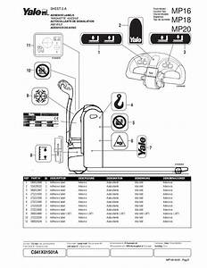 Yale Forklift Parts Manuals