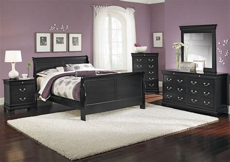 American Signature Bedroom Sets by American Signature Furniture Neo Classic Black Bedroom