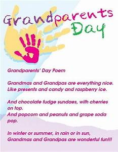 grandparents day poems for preschoolers - Google Search ...