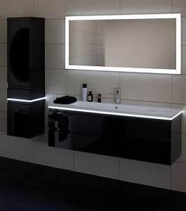 Un meubles a led pour la salle de bain une idee deco design for Led meuble salle de bain