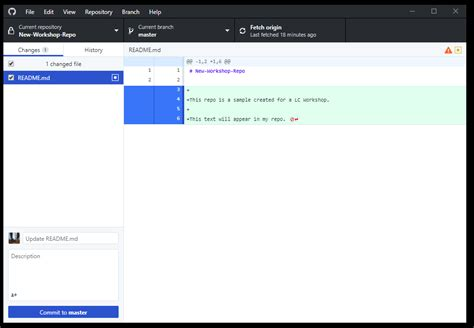 This makes the first commit special (an orphan commit), so there is no way to refer to a previous state. Getting started with GitHub Desktop - Introduction to ...