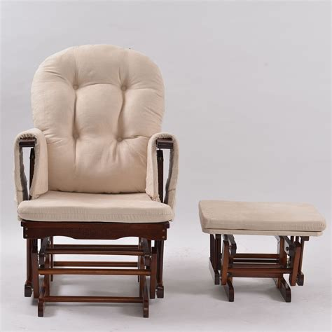 Suitable Indoor Rocking Chair With Ottoman Cape Atlantic
