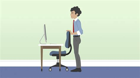 standing desk lower back pain burn off those easter treats at your desk daily mail online