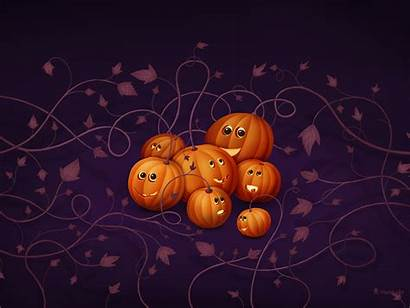 Halloween Desktop Wallpapers Scary Pumpkins Spider Vampires