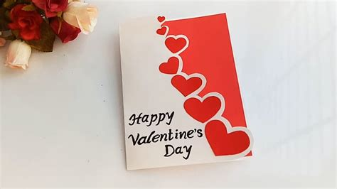 beautiful handmade valentines day card idea diy