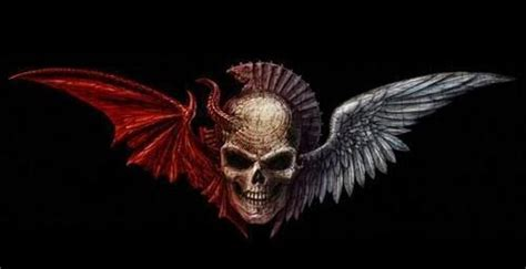 Evil Skulls  Good Vs Evil Skulls  Skullzzzz And