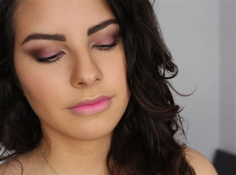 Romantic And Soft Purple Smokey Eyes The Beauty Milk