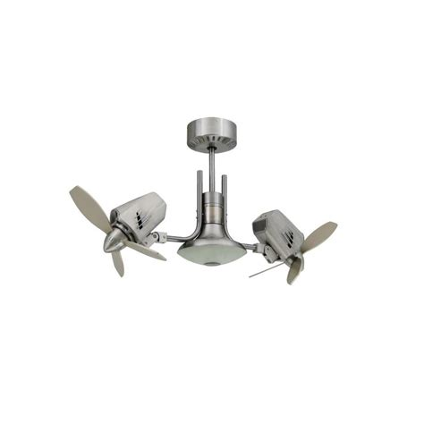 dual motor ceiling fan with light troposair mustang ii 18 in dual motor oscillating indoor