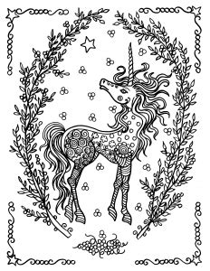 myths legends coloring pages  adults page