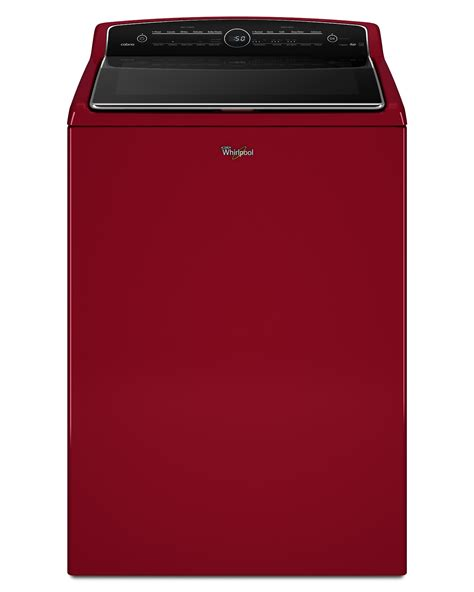 cabrio washer whirlpool wtw8500dr 5 3 cu ft cabrio 174 top load washer cranberry red