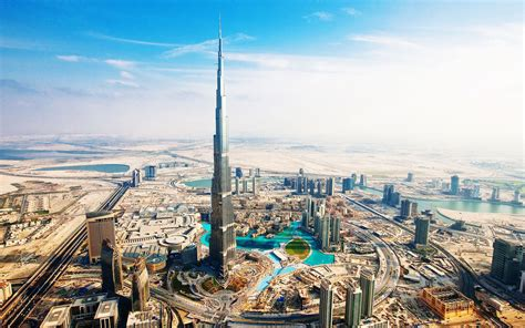Hd Background Burj Khalifa Dubai Uae Day View Wallpaper