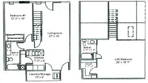 floor plan  bedroom loft woodsview apartments
