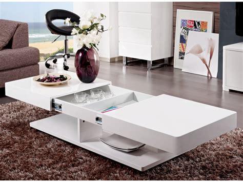 table basse bar blanc laque mod 232 le table basse laque blanc