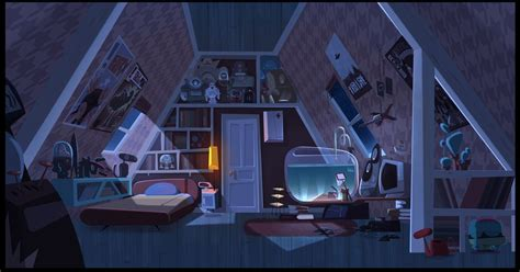"""Looking for the best anime background? """"Jimmy's got tentacles"""" Copcep Art by Gael BECU   Concep ..."""
