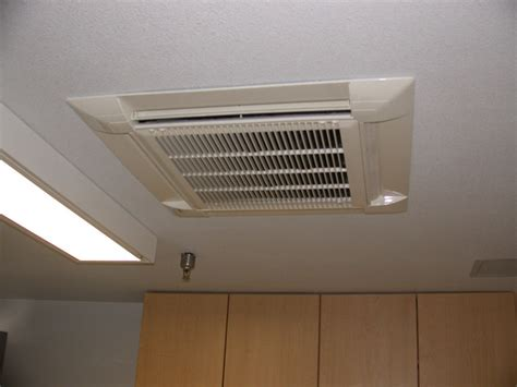 ceiling cassette mini split size air conditioning heating heat pumps furnace