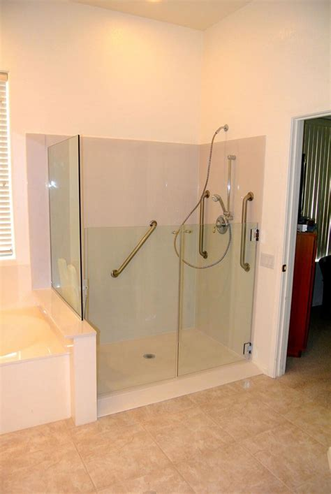 In Shower Accessible Showers Convertabath 174
