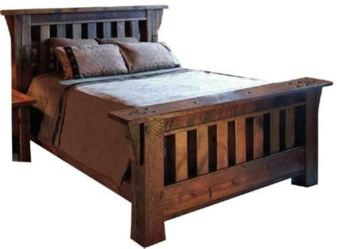 wood beds wood bedroom furniture and reclaimed barn wood