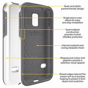 Amazon Com  Otterbox Cell Phone Case For Galaxy S5 Mini - Retail Packaging
