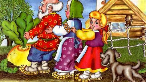 enormous turnip russian folk tales youtube