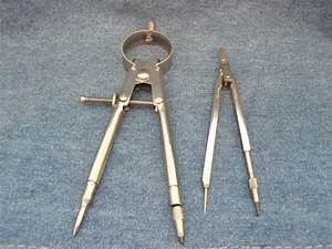 2 Engineering Compass Drafting Mechanical Drawing Tools 1