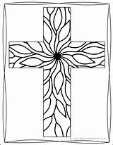 Coloring Cross Pages Religious Adults Printable Printables Packets Want Reallifeathome Sample1 sketch template